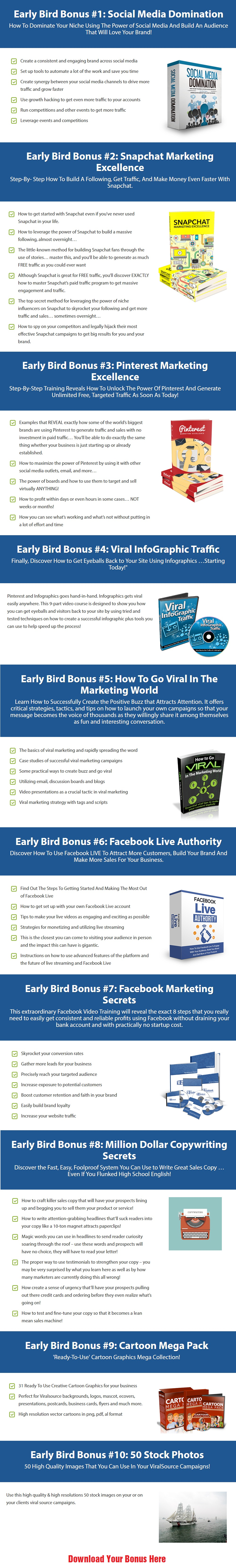 Viral Source Bonuses