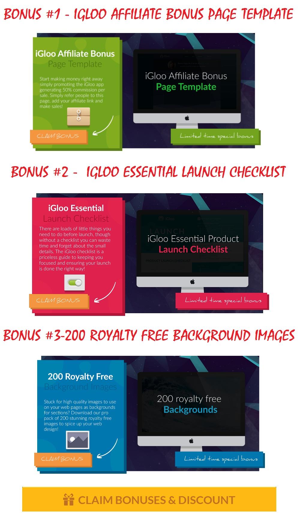 iGloo App Bonus