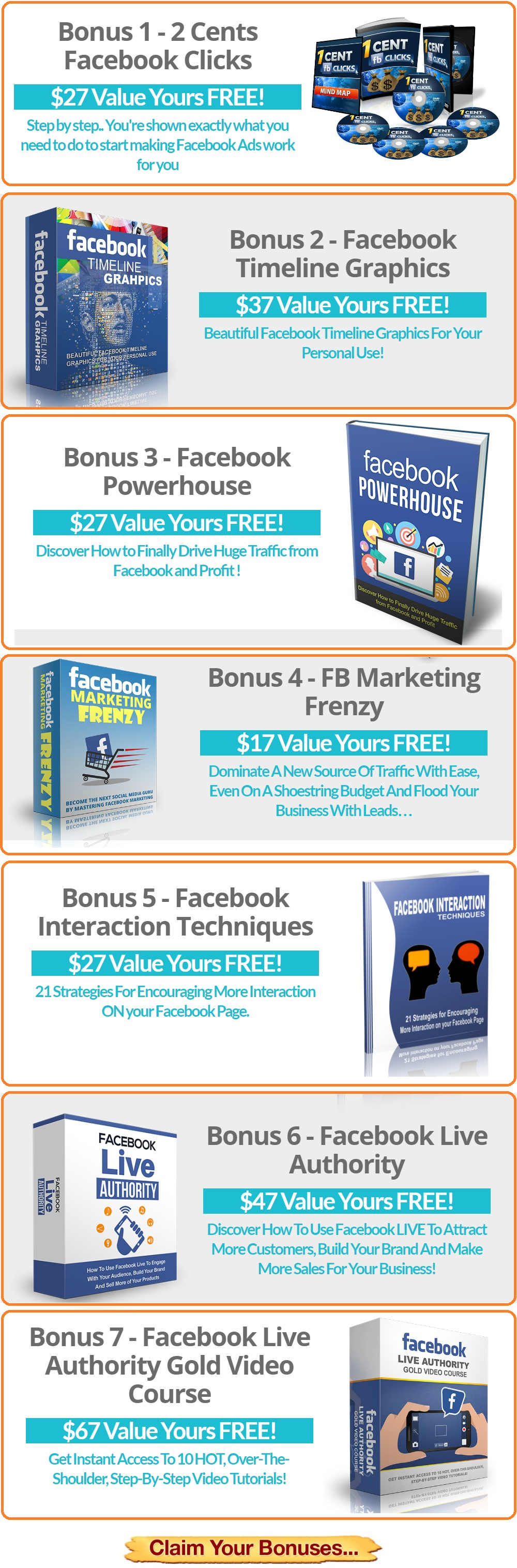 FB Live Engagenator Bonus