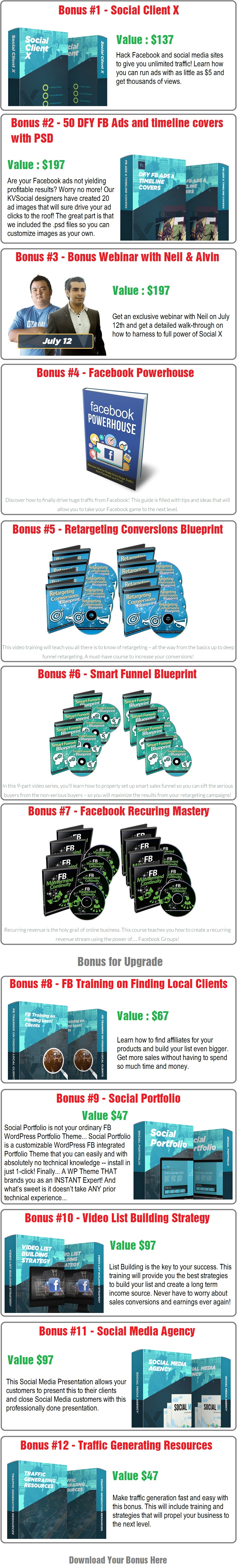 Social X Bonus