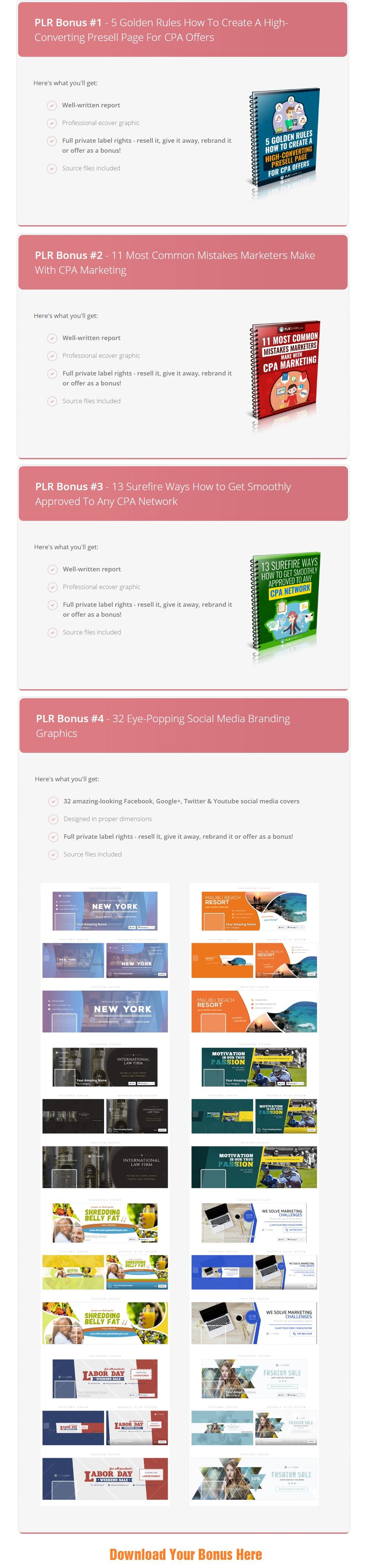 CPA Marketing Genius Bonus