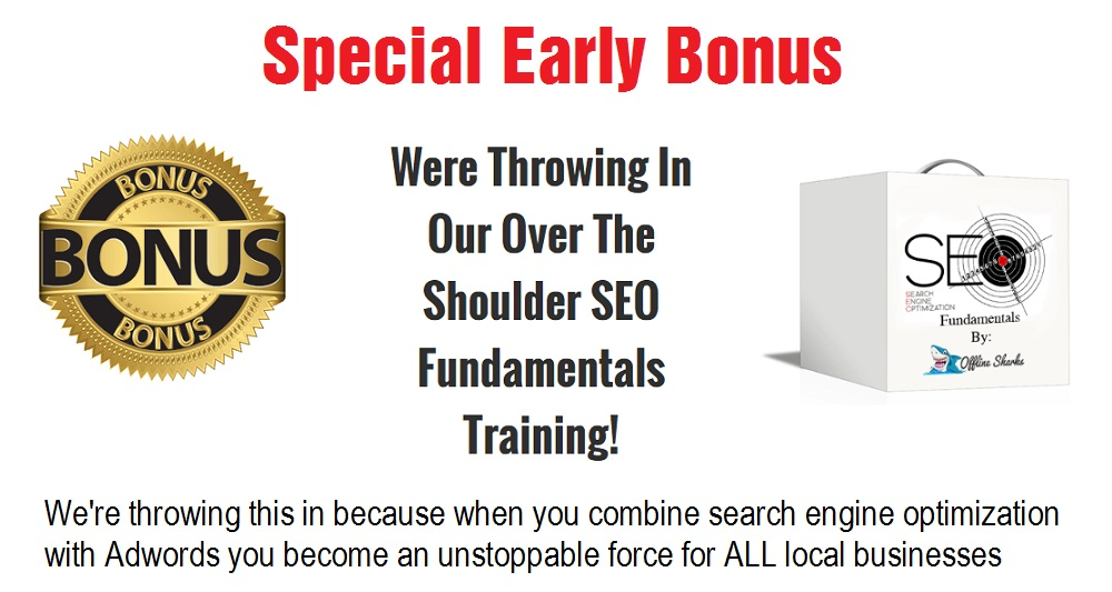 Local Adwords Income Special Bonus
