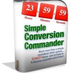 Simple Conversion Commander Review & Bonus