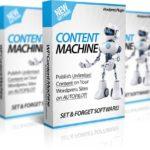 WP Content Machine Review & Bonus