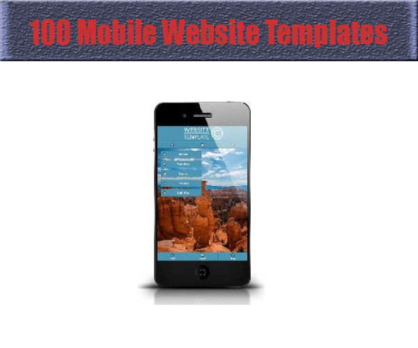 100-mobile-website-templates
