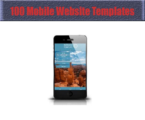 100-mobile-website-templates