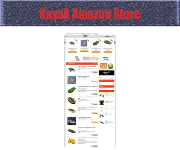 kayak_amazon_store