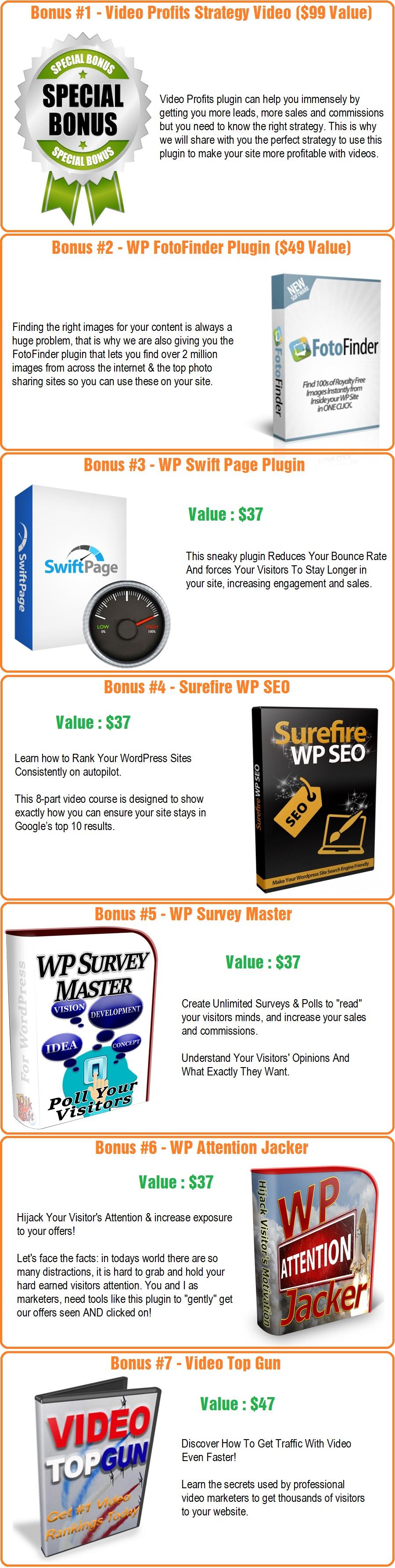 WP Video Profits Bonus