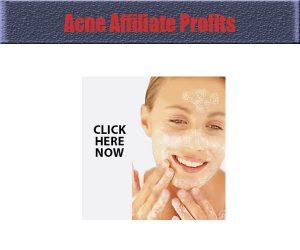 acne-affiliate-profits