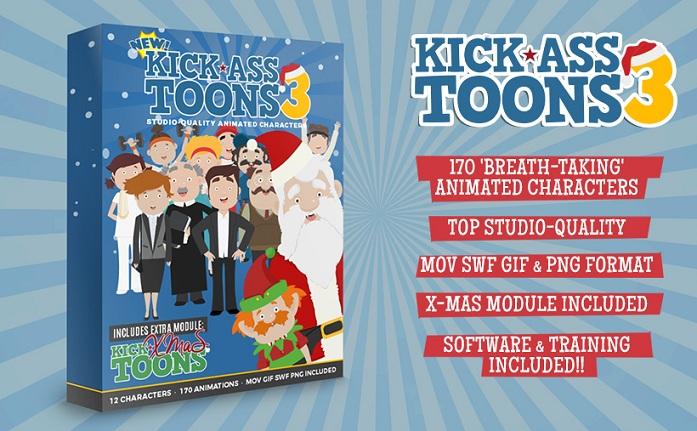 Kick-Ass Toons V3 Review