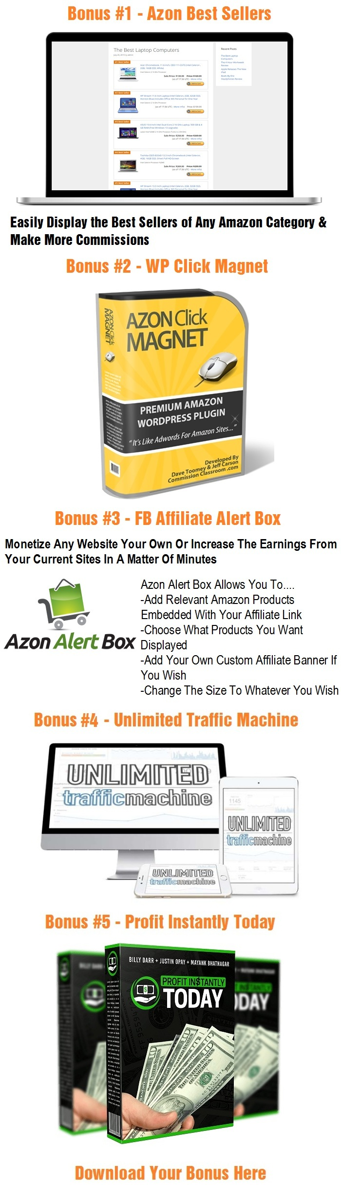 Azon Profit Engine Bonus