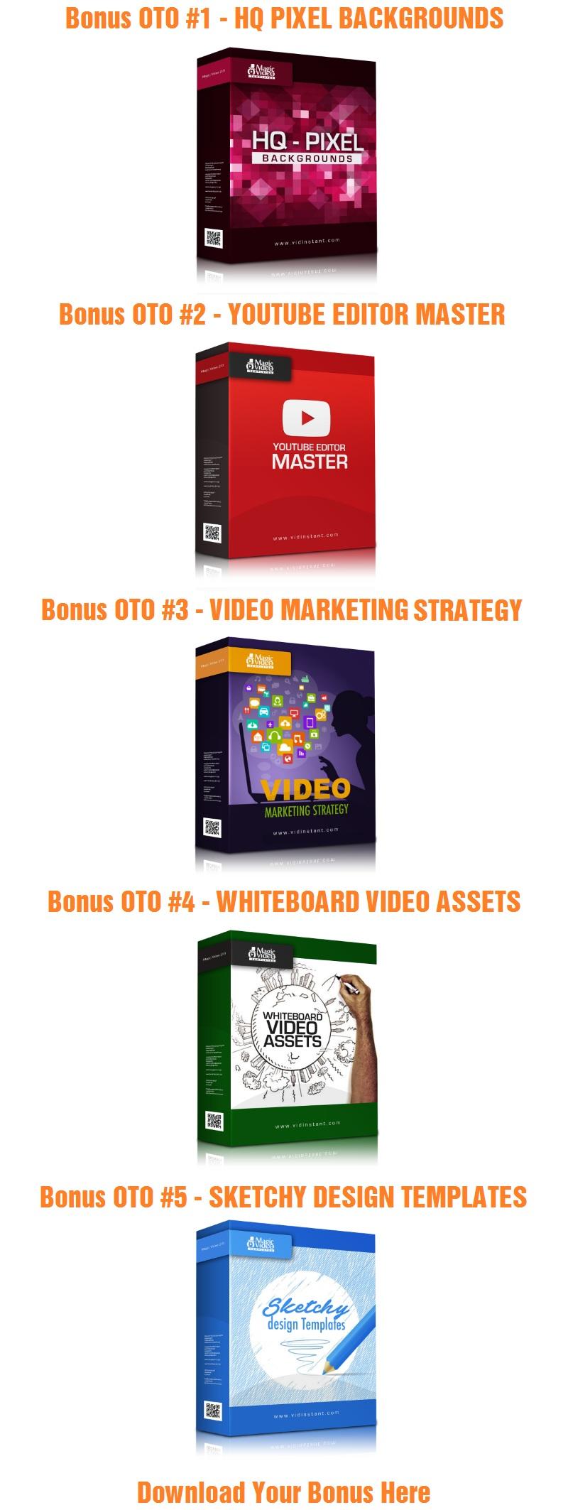 Magic Video Templates V3 Bonus OTO
