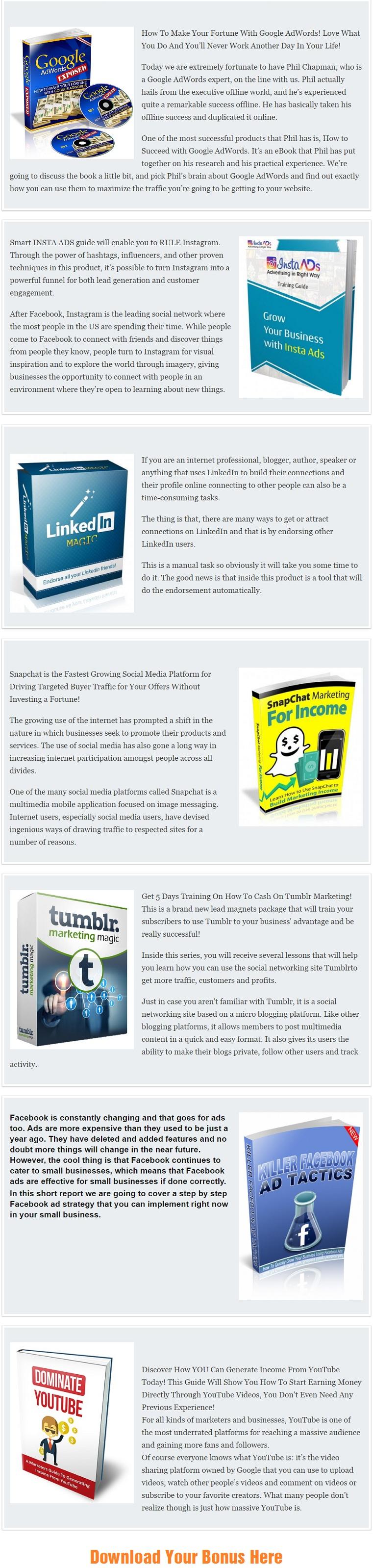 Online Ads Mantra PLR Bonus