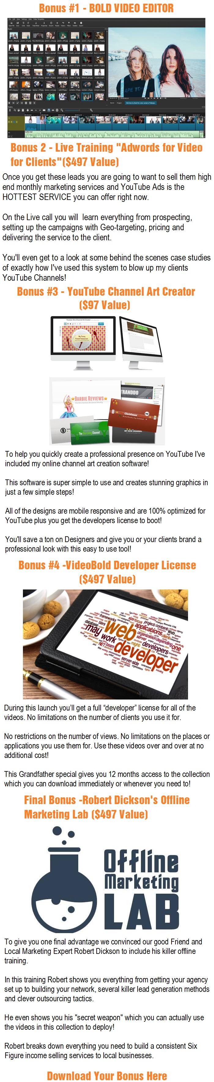 VideoBold 2.0 Bonus
