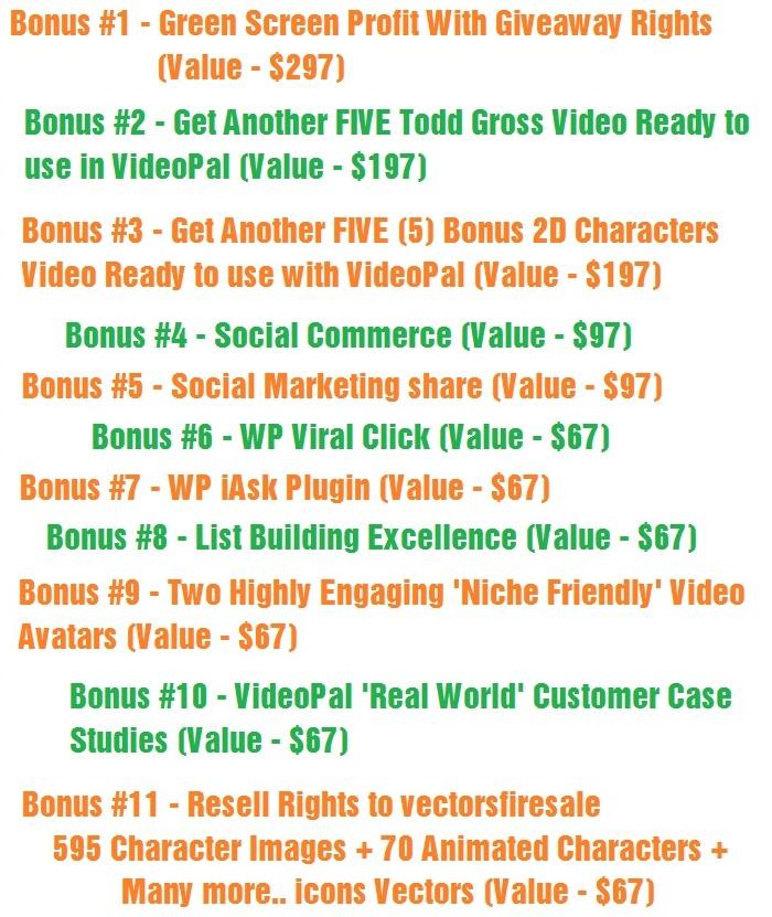 VideoPal Bonus