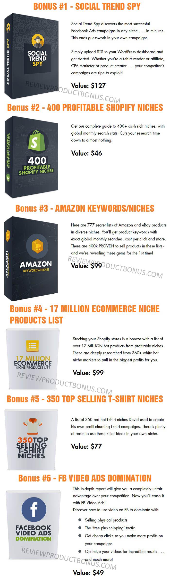 Build My Store Bonuses