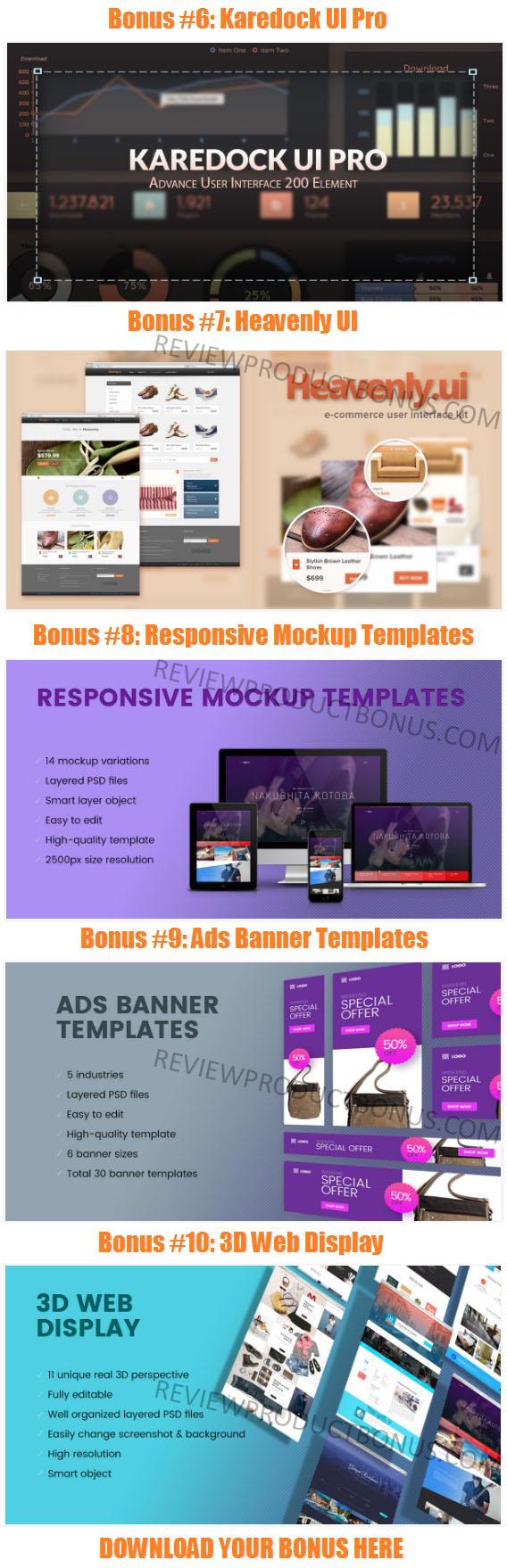 MultiPress WP Theme Bonuses