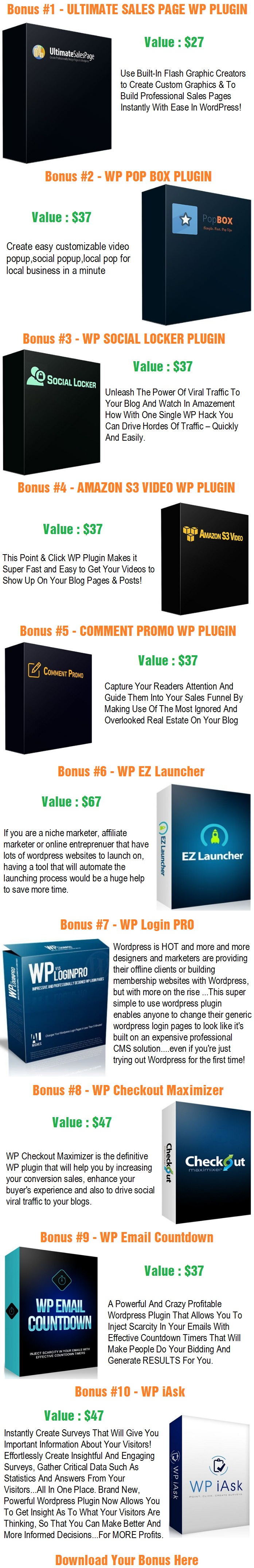 WP Blazer 3.0 Bonus