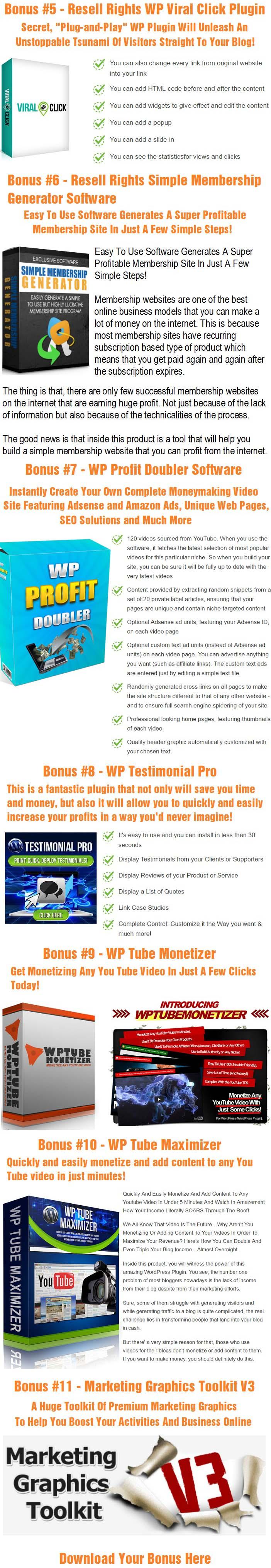 BleuPage Pro Bonus