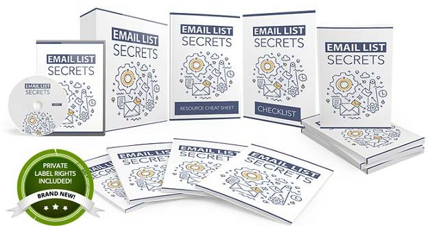 Email List Secrets PLR Review