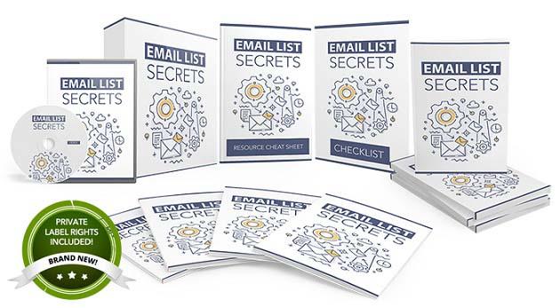 Email List Secrets PLR Review