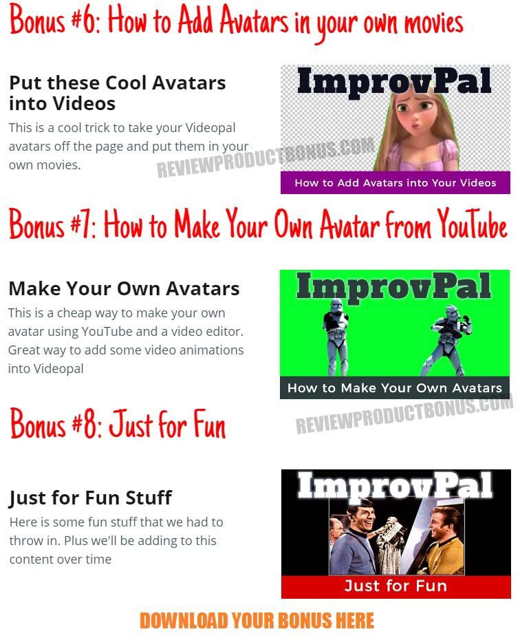 ImprovPal Bonuses