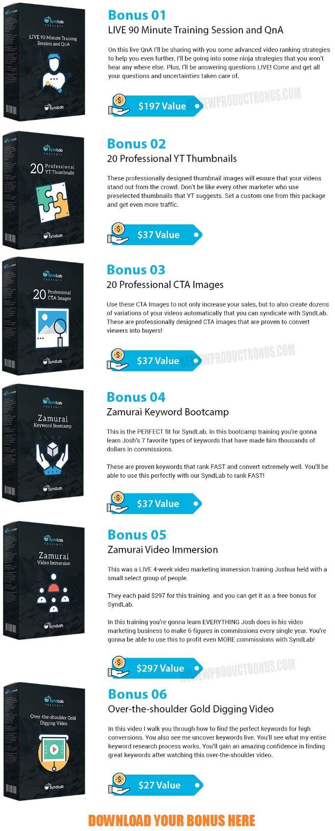SyndLab Bonus