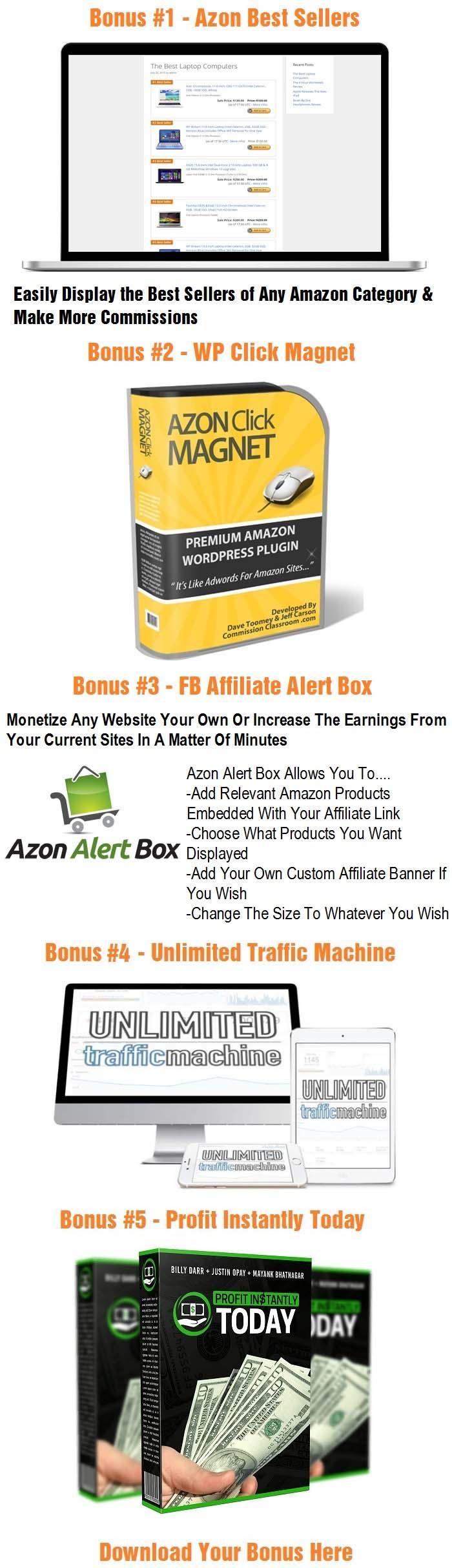 WP ShopAzon Bonus