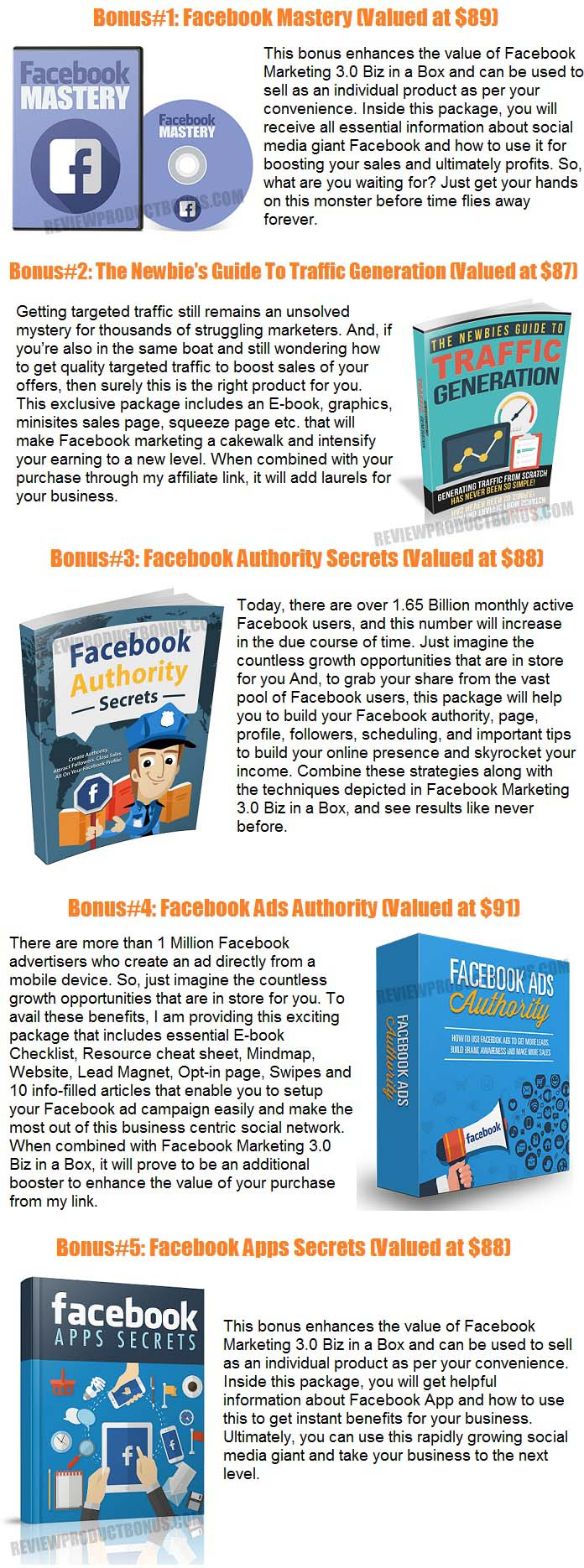 Facebook Marketing 3.0 Bonus