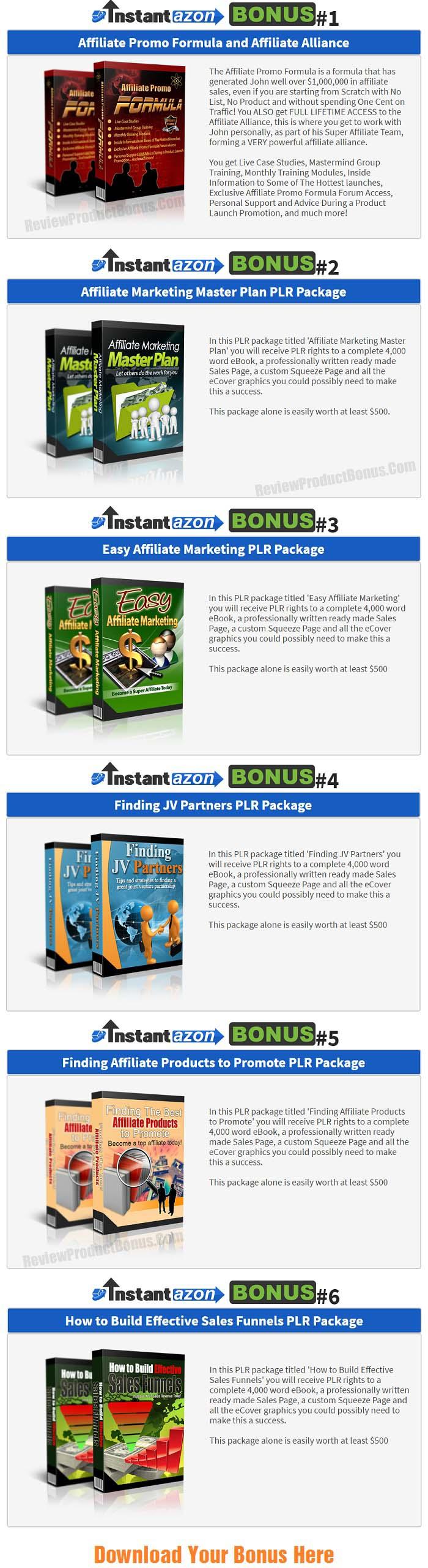 InstantAzon Pro Bonus