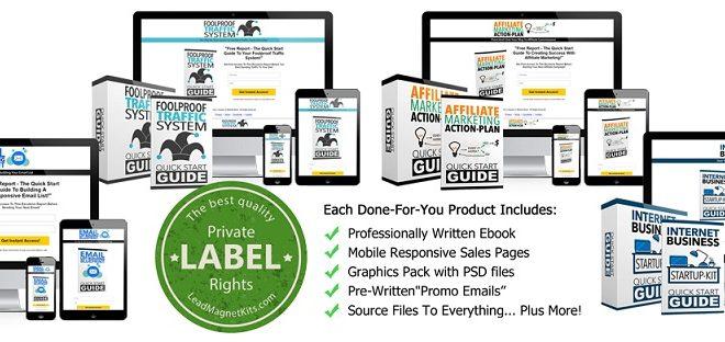 Internet Marketing Kickstart Lead Magnet Kit Review