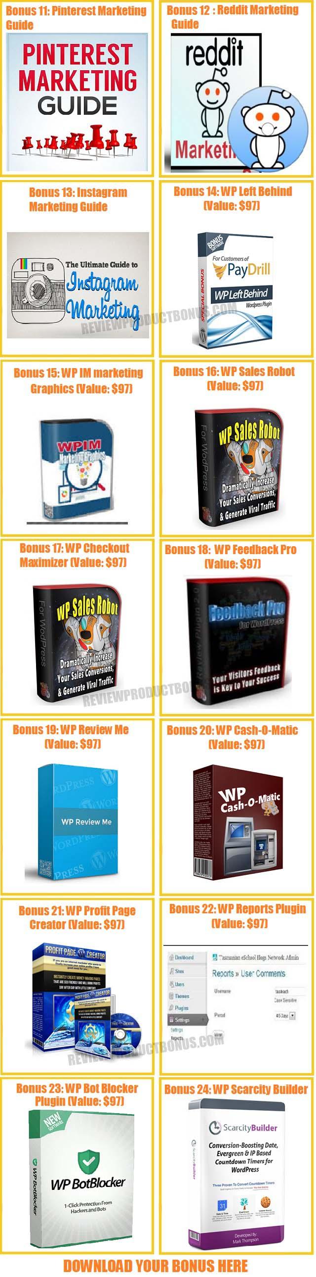 WP Tag Machine Bonuses