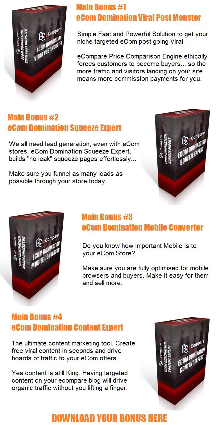 eCompare Bonus