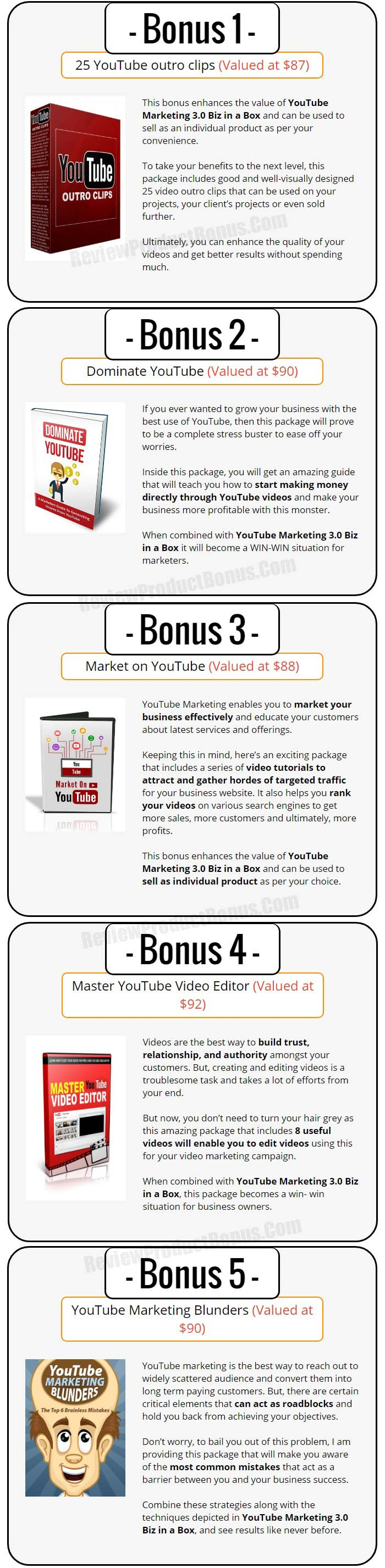 YouTube Marketing 3.0 Bonus