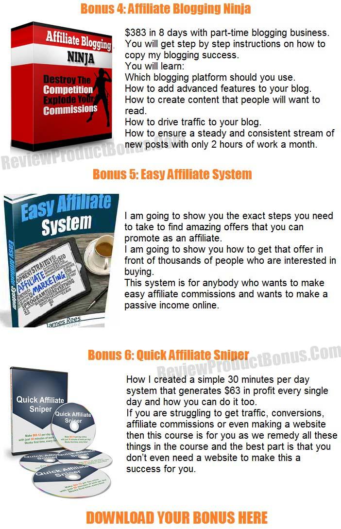 Affiliate Rebirth Bonuses