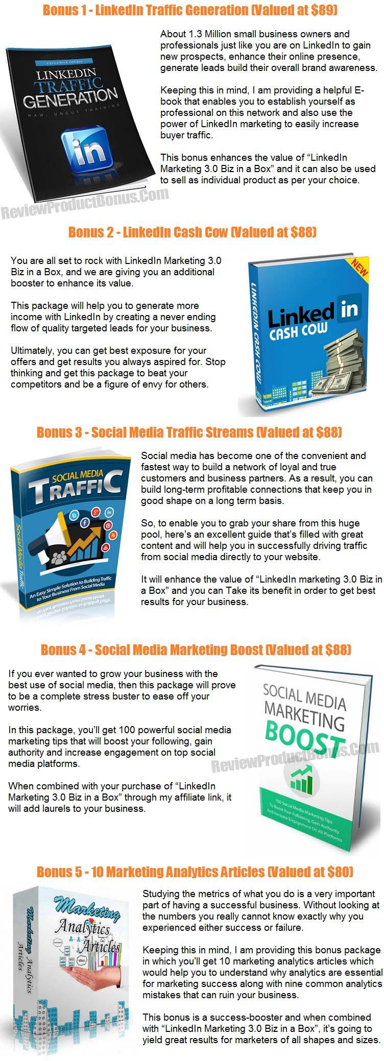 LinkedIn Marketing 3.0 Bonus