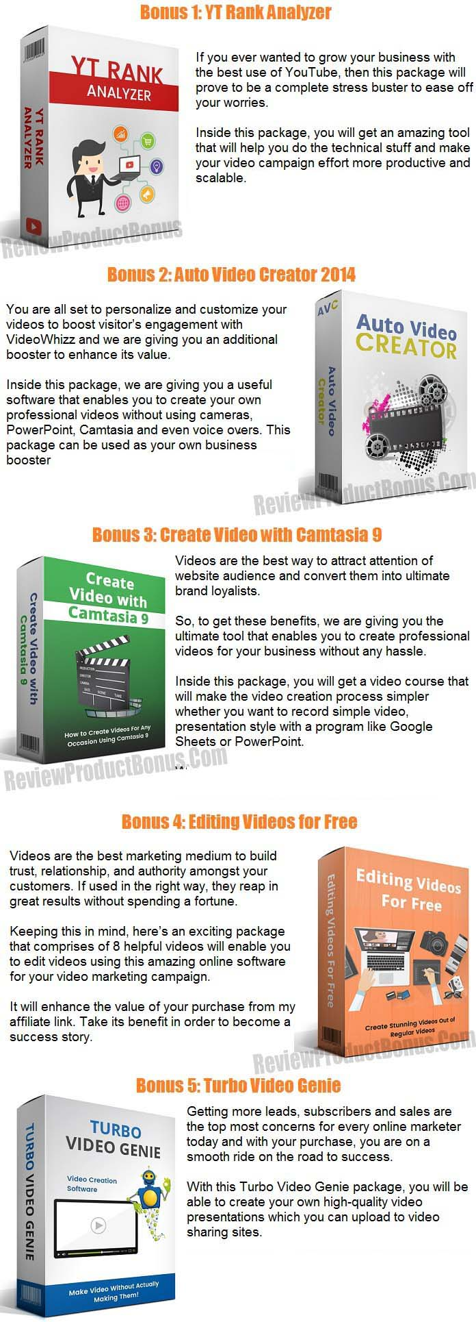 Reevio Video Maker 2.0 Bonus
