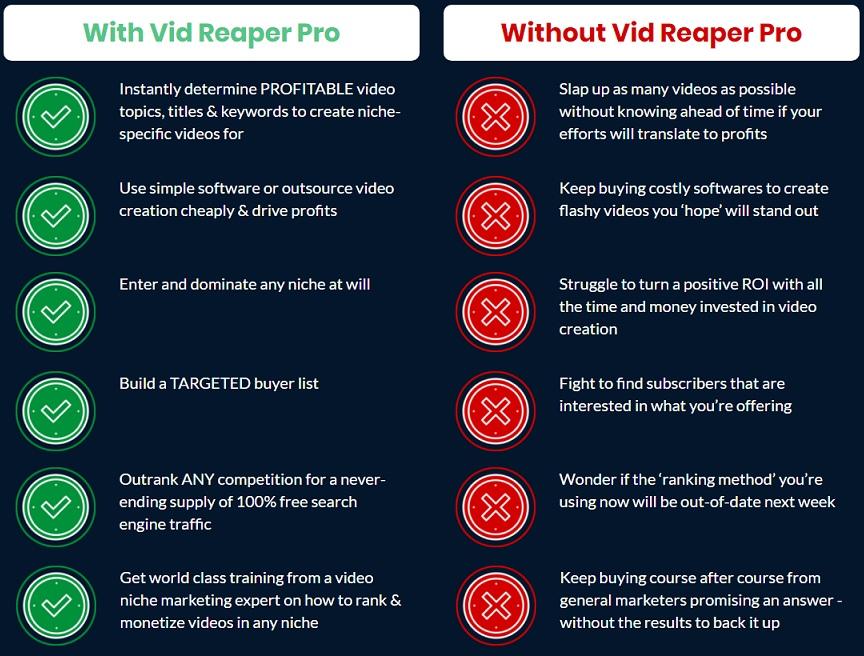 Vid Reaper Pro Compare