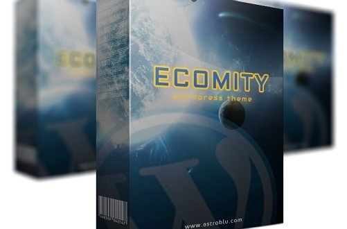eComity WP Theme Review