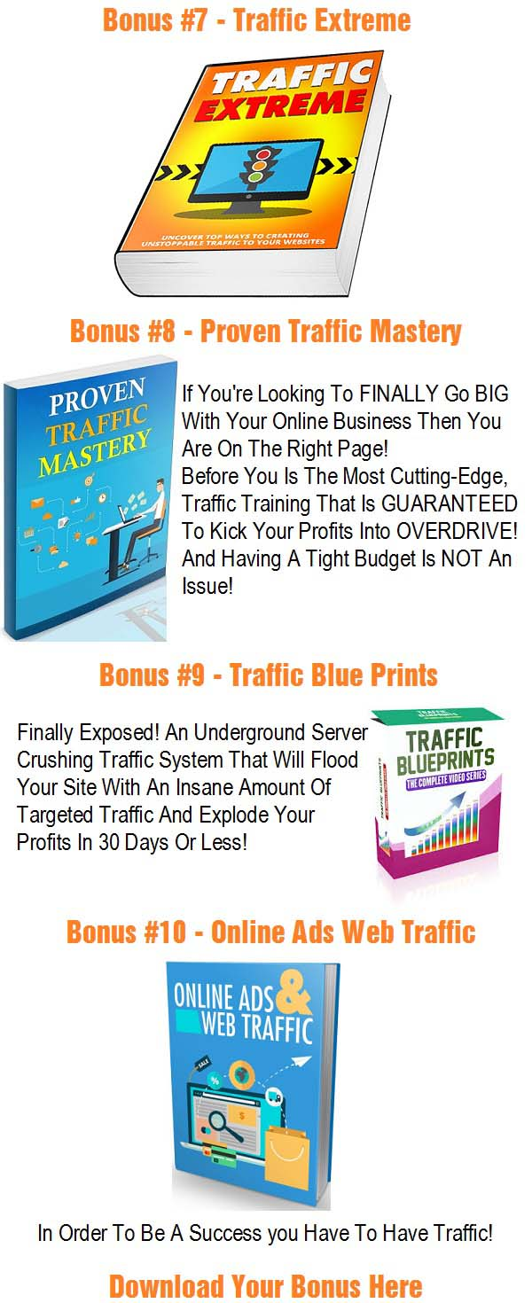 Covert Commissions Bonuses