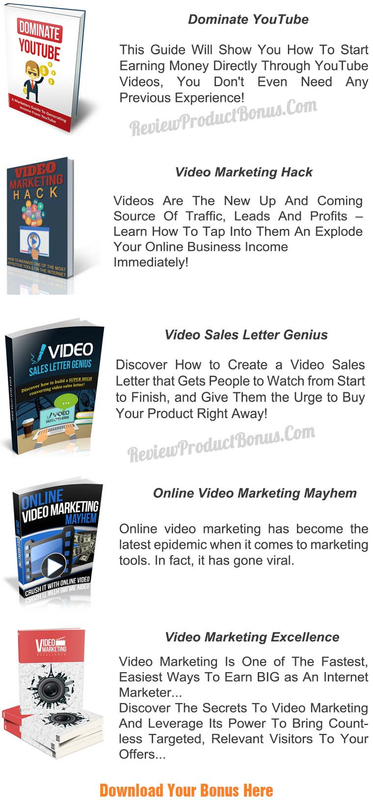 DFY Whiteboard Video Mega Pack Bonus