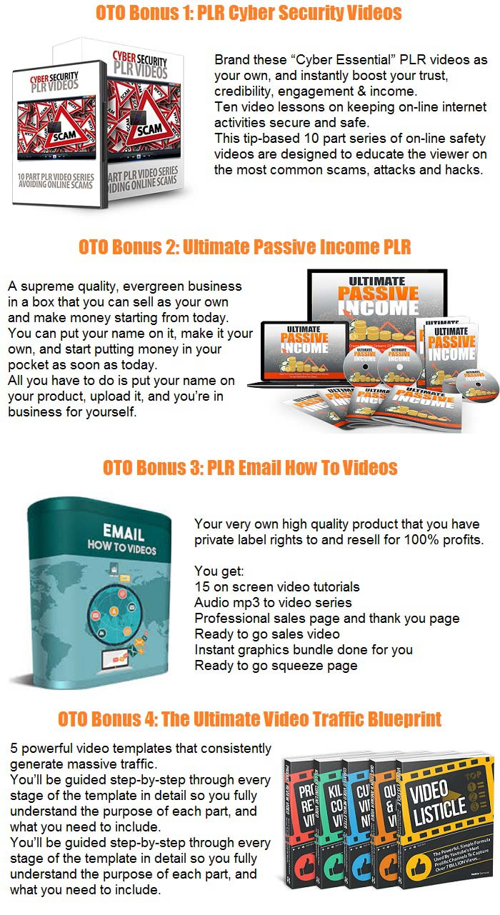 Expert Content Videos Bonus OTO