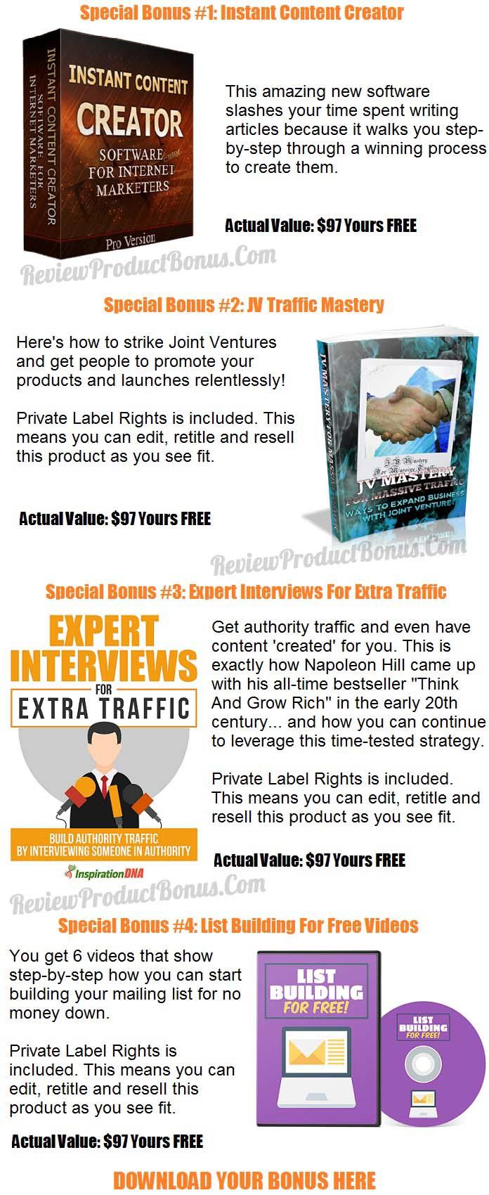 Expert Content Videos Bonus