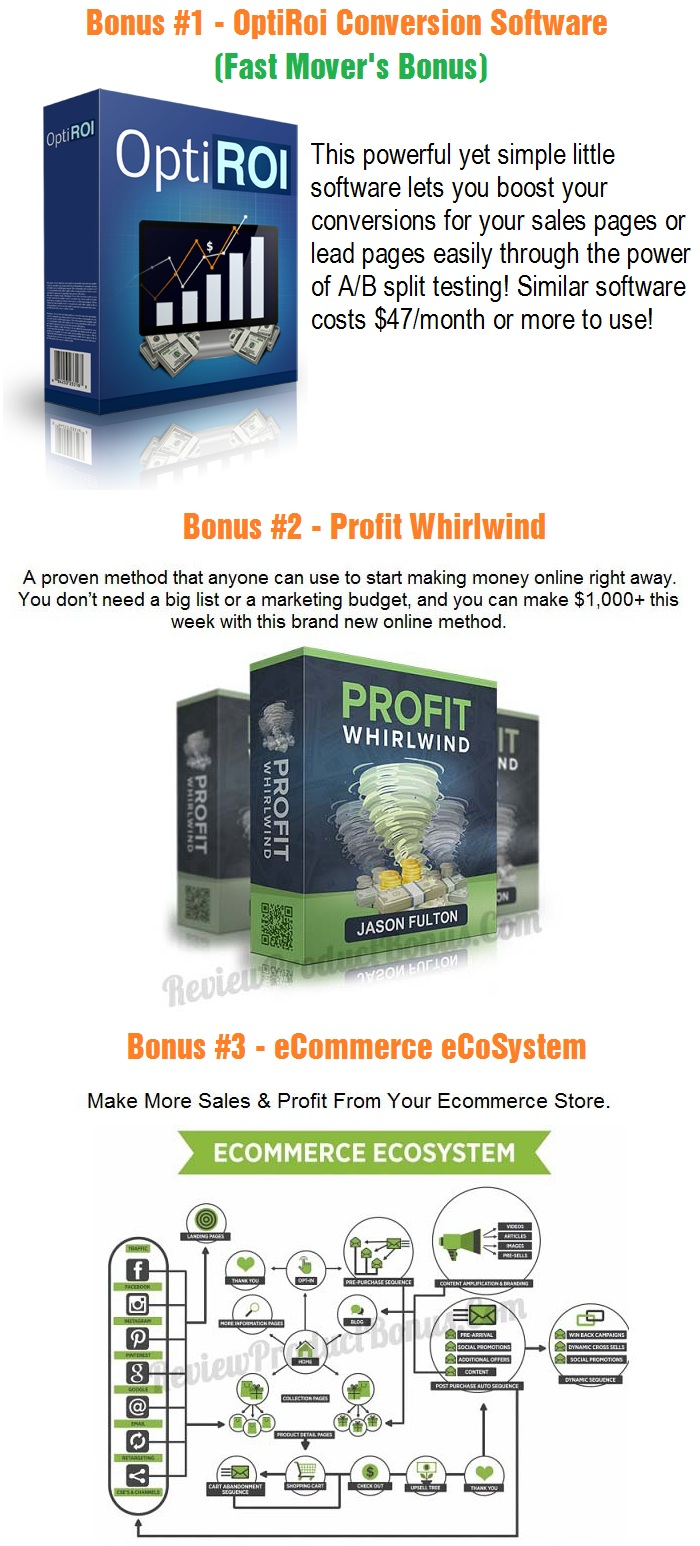 Online Sales Pro Early Bird Bonus