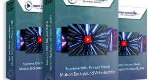 Motion Backgrounds PLR Video Bundle Review