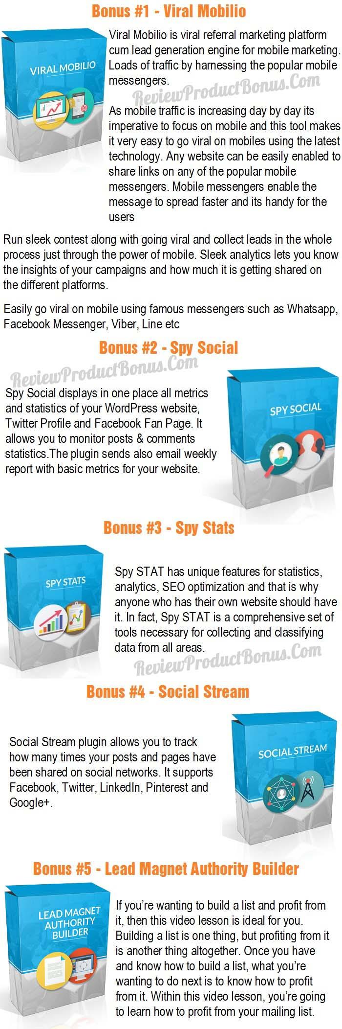Spy Stream 2.0 Bonus