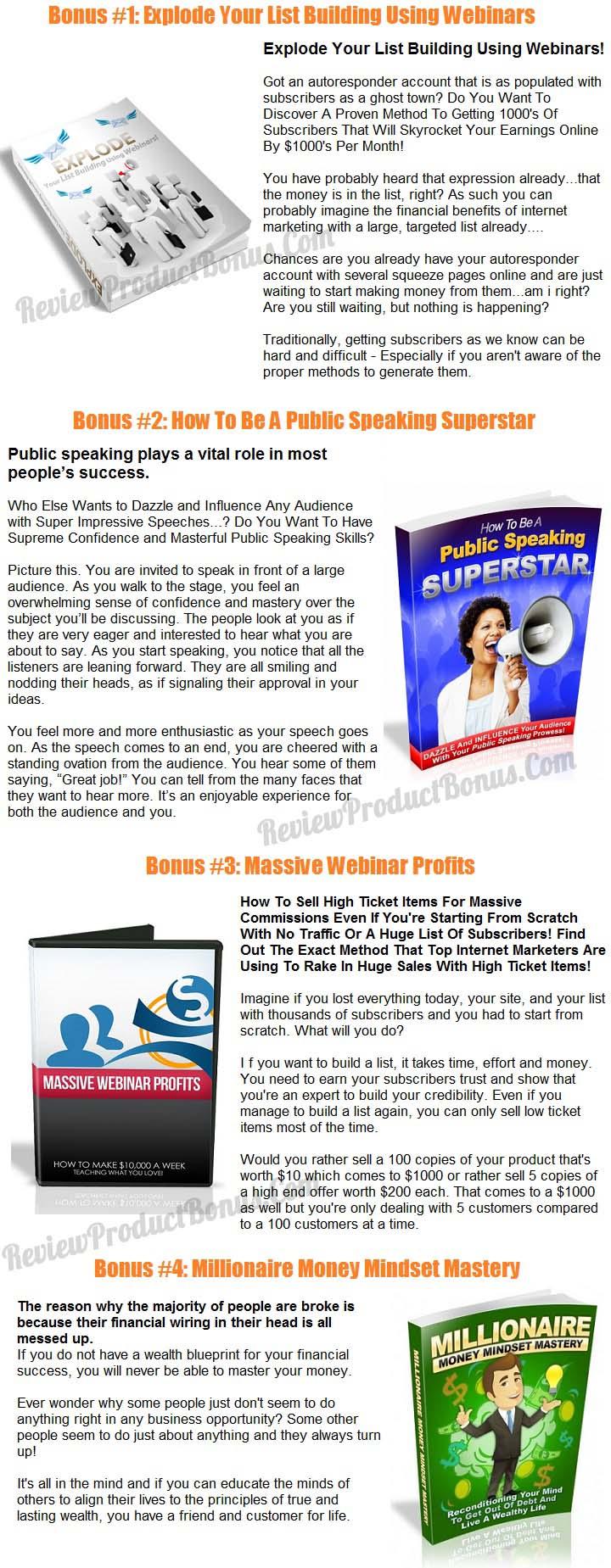 Webinar Mastery Bonus