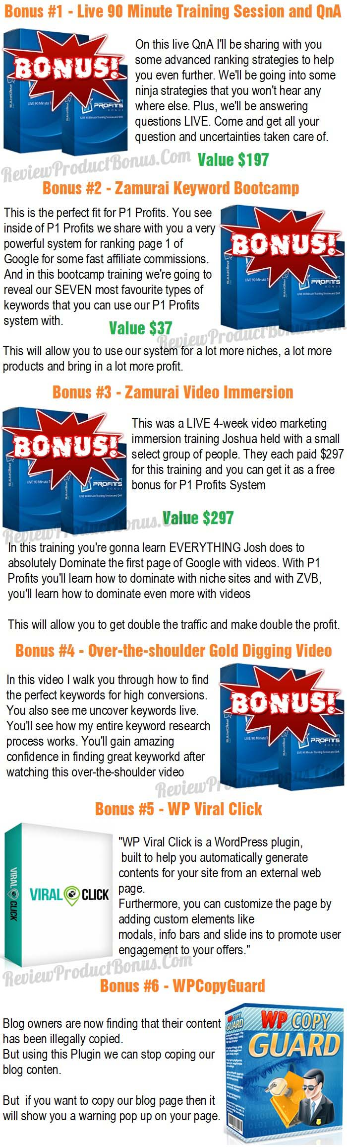 P1 Profits Bonus