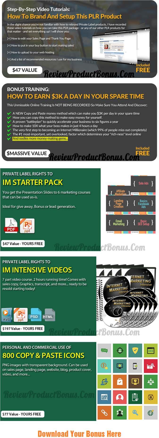 PLRXtreme Free Business Videos Bonus