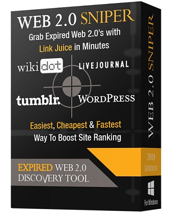 Web2.0 Sniper Review